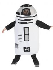 Disfraz de robot blanco niño