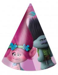 6 Sombreros de fiesta Trolls™