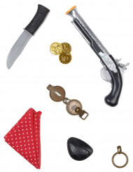 Kit accesorios pirata infantil