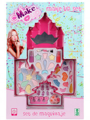 Kit de maquillaje castillo de princesa niña