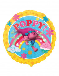 Globo aluminio Poppy Trolls™ 43 cm