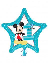 Globo 1º cumjpleaños Mickey™ aluminio 43 cm