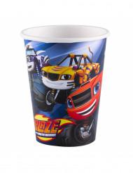 8 Vasos de cartón Blaze y los Monster Machines™ 266 ml