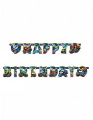 Guirnalda Happy Birthday Blaze y los Monster Machines™ 182 cm