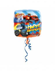 Globo aluminio Happy Birthday Blaze y los Monster Machines™ 43 cm