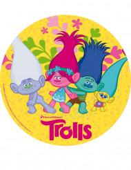 Disco de azúcar Trolls™ 20 cm