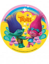 Disco de azúcar Trolls™ 16 cm