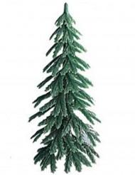 Palillo decorativo árbol plástico postres navideños 7 cm