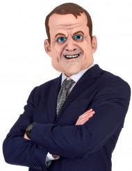 Máscara humorística Emmanuel látex adulto