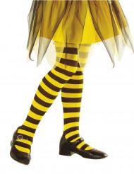 Medias rayas amarillas y negras niño