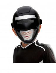 Máscara Power robot negro niño