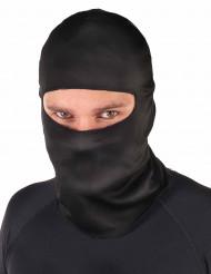 Pasamontañas negro de ninja adulto