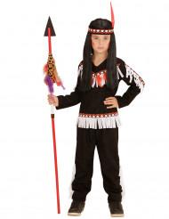 Disfraz de indio negro para niño