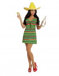Disfraz de mexicana mujer