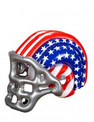 Casco fútbol americano hinchable USA niño