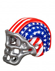 Casco hinchable de fútbol americano USA adulto