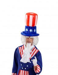 Sombrero alto hinchable americano adulto