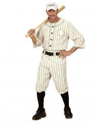 Disfraz de jugador de béisbol hombre