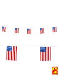Guirnalda bandera USA 15 x 20 cm