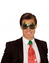 Gafas árbol de Navidad adulto