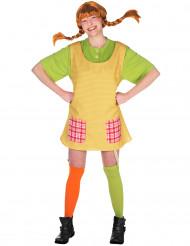 Disfraz de Pippi Calzaslargas™ mujer