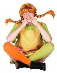 Peluca Pippi calzaslargas™ mujer