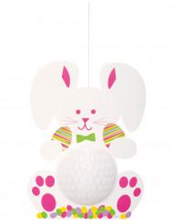 Decoración colgante conejo de Pascua