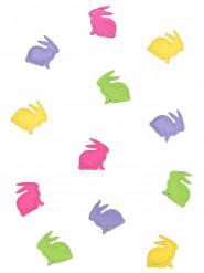20 Confetis fieltro conejo colores