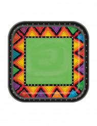 10 Platos pequeños de cartón México