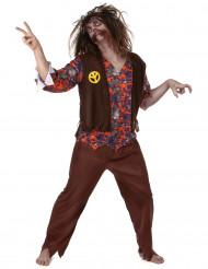 Disfraz Zombie Hippie Hombre