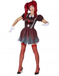 Disfraz de muñeca terrorífica mujer