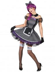 Disfraz de muñeca gótica mujer