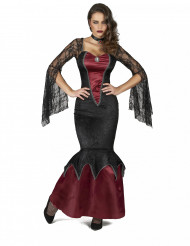 Disfraz de belleza peligrosa mujer