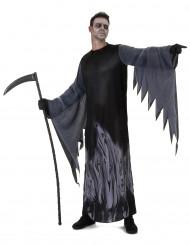 Disfraz de segador de almas negro hombre