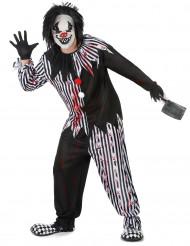 Disfraz de payaso psicópata hombre