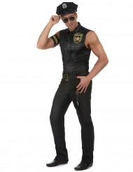 Disfraz de policía sexy hombre