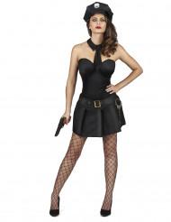 Disfraz de agente de policía sexy mujer