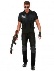 Disfraz agente de policía SWAT hombre