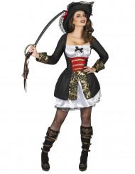 Disfraz de corsaria sexy mujer