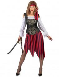 Disfraz de pirata gipsy mujer
