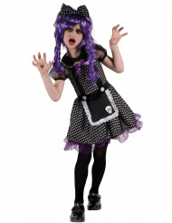 Disfraz de muñeca Gótica Niña