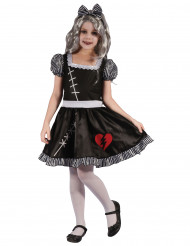 Disfraz muñeca corazón partido niña