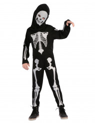 Disfraz de esqueleto articulado niño