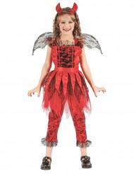 Disfraz demonio del fuego Niña