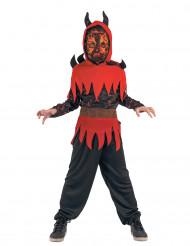 Disfraz de demonio del fuego Niño