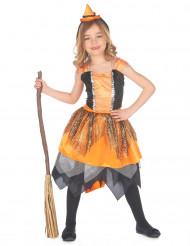 Disfraz de bruja telaraña Niña