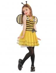 Disfraz de abeja flores niña