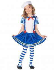 Disfraz de marinera brillante niña