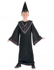 Disfraz de aprendiz de mago niño negro