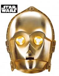 Máscara de cartón C3-PO - Star Wars™